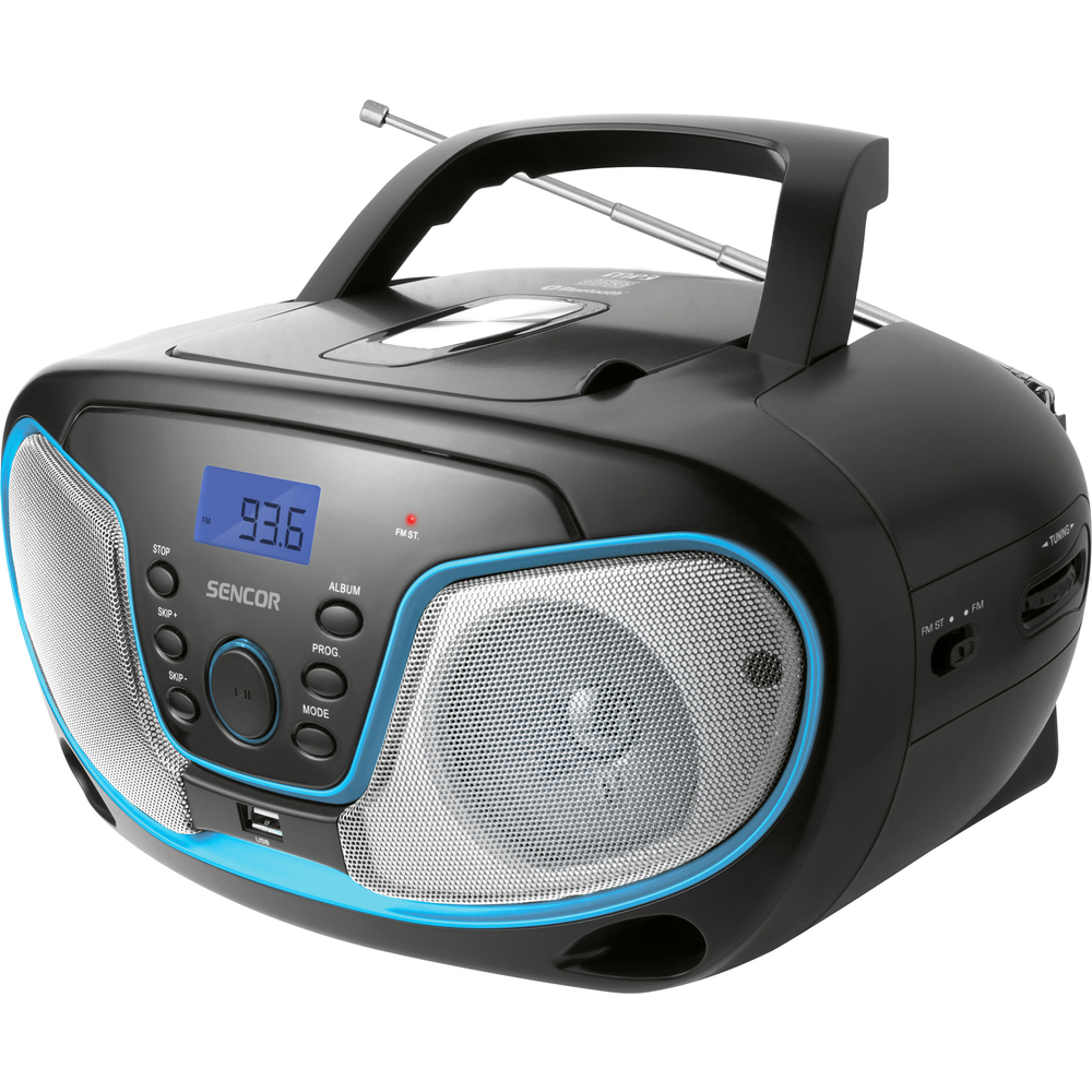 Sencor SPT 3310 (rádio s CD,MP3,USB,Bluetooth)